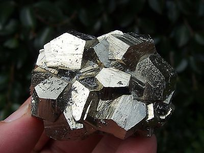 Pyrite Crystal Cluster from Quiruvilca mine, Peru. 134 grams.