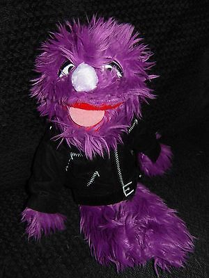 Rare Jackson Three Mobile Network Purple Muppet Plush Soft Toy 3 #makeitright