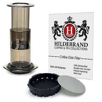Hildebrand Coffee Disk Filter for Aeropress Coffee & Expresso Maker - Stainle...