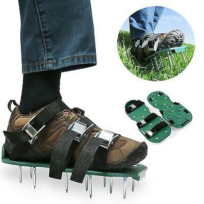 Itian Lawn Aerator Spike Shoes-For Effectively Aerating Lawn Soil-Comes with ...