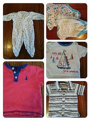 6-9 and 6-12 months boys clothing small bundle