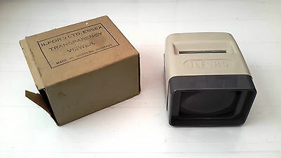 Ilford Transparency (Slide) Viewer (boxed) made in West Germany