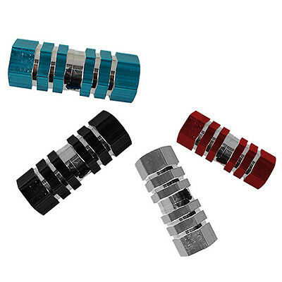 "1 Pc Bike Bicycle Bmx Mtb Cylinder Alloy Pedal 3/8"" Axle Foot Stunt Pegs Superb"