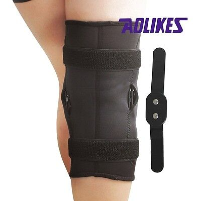 Sports Medicine Elastic Compression Knee Brace Support Flexible Pad Sleeve Gear