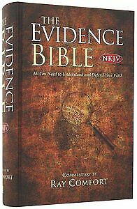 The Evidence Bible Hard Cover Holy God Scriptures Christian Ray Comfort