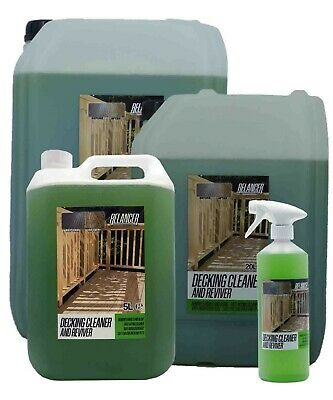 Decking Cleaner & Reviver < RELANCER > Removes moss / mould / algae 1L - 20L