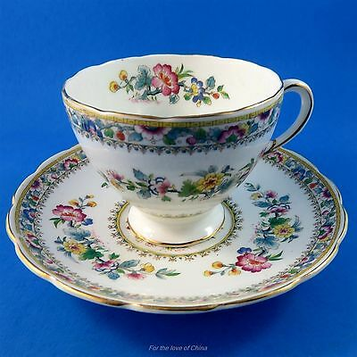 Pretty Foley Adoration Tea Cup and Saucer Set