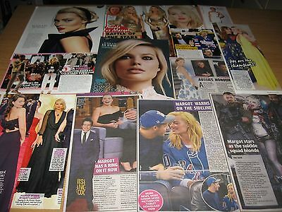 MARGOT ROBBIE - 55 Magazine and Newspaper Clippings