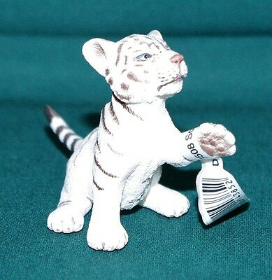Schleich - Wild Life - 14385 - Tiger young white, playing - NEU