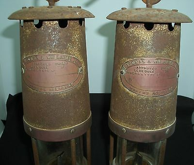 Vintage Miners Lamps