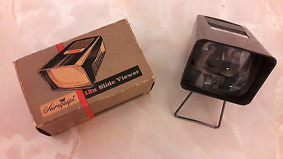 Vintage Airequipt 12X Slide Viewer (Boxed)