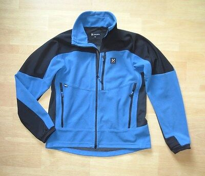Haglöfs Windstopper-Jacke Herren Gr. XL Softshelljacke Fleece