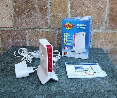 FRITZBox 6810 LTE 300 Mbps 1-Port 100 Mbps Funk Router TOP ZUSTAND!
