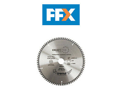 Trend CSB/30072 Craft saw blade 300mm x 72 teeth x 30mm