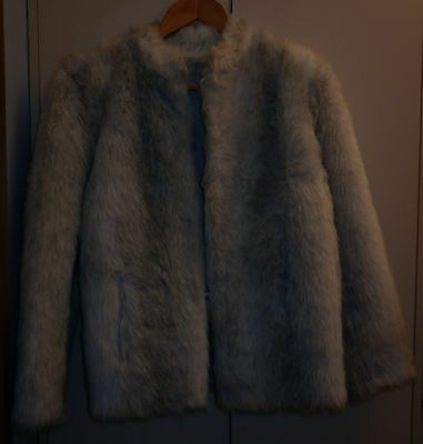 Vintage Australian Made Size 14 Fake Fur Jacket  Excellent Condition