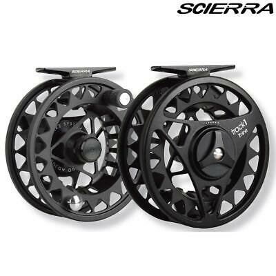 Scierra Track 1 Fly Fishing Reel - Salmon & Trout Fishing Choose Size