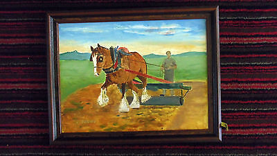 Missionary Auction Framed Incredible Signed Oil Painting, Local Late Artist