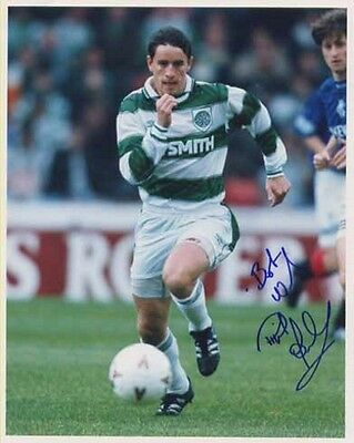 Phil O'Donnell - Celtic - Signed Photo - COA (11491)