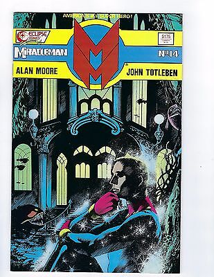 Miracleman VF//NM 9.0 Back Issues Eclipse Comics Alan Moore 1985 1986 1987