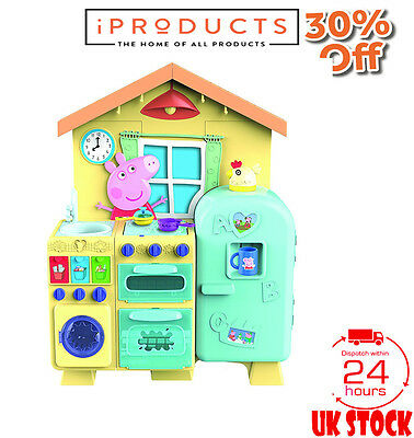 Peppa Pig Kitchen Play Set Toy Kids Cooking Role Children Pretend Electronics