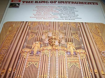 The King of Instruments An Introduction To The Enjoyment o Organ Music HMV LP