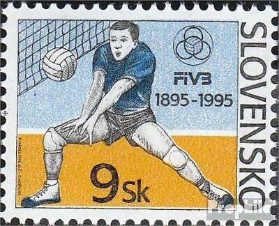 slovaquie 235 (complète.Edition.) neuf avec gomme originale 1995 volley-ball