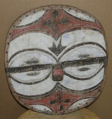 Beautiful African DRC Teke Tribal Mask Masque Africa Congo PLANK BATEKE ART