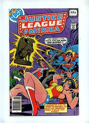 Justice League of America #166 - DC 1979 - VFN+ - UK Pence Variant - JSA App