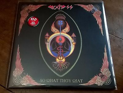DEATH SS - Do What Thou Wilt vinile rosso 150 copie - ristampa 2016