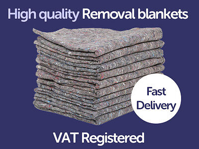 10 x Furniture Moving Van Removal Packing Transit Fabric Blankets