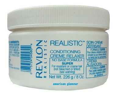 Revlon Realistic Relaxer / Glättungscreme Conditioning Creme Relaxer SUPER 226g