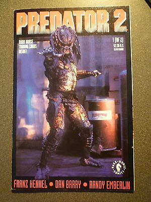 Predator 2 Issue 1 of 2 Includes Trading Cards - Dark Horse Comics