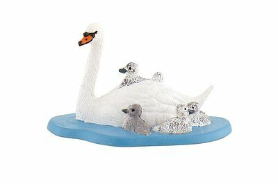 New Bullyland 62322 - Swan with Cygnets - FREE UK DELIVERY !