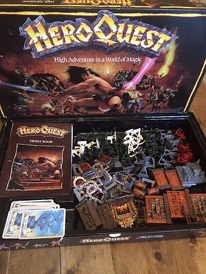 Hero quest Board Game Role play Heroquest Complete