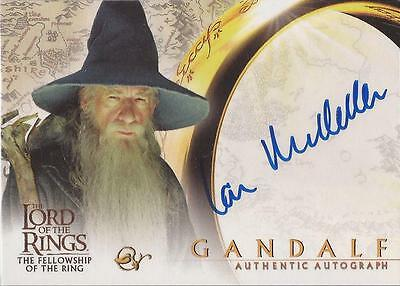 "Lord of the Rings Fellowship - Sir Ian McKellen ""Gandalf"" Autograph Card"