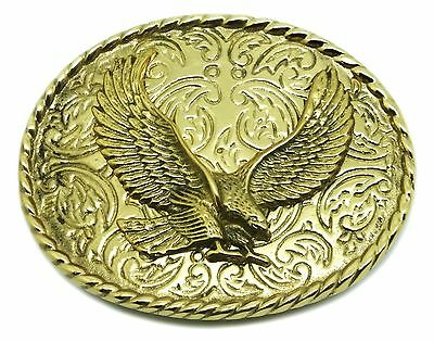 Eagle Belt Buckle American Western Bird of Prey Authentic C /& J Buckles Product