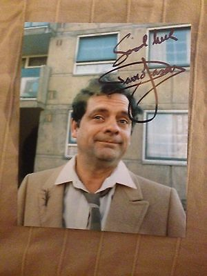 Only Fools And Horses Photo Signed By David Jason Del Boy OFAH