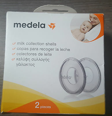 Medela Milk Collection Shells. Breastfeeding.