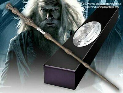 Harry Potter Bacchetta Magica - Magic Wand Dumbledore NOBLE COLLECTIONS