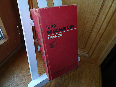 Guide Rouge Michelin 1969