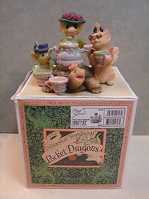 "Pocket Dragon ""Tea and Gossip""  # 002797 with org. box 2000 (J2)"