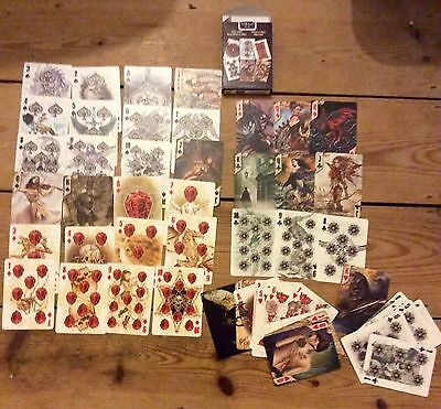 Alchemy tattoo art playing cards, promotional item, new