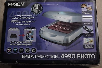 Epson Perfection 4990 Photo Flatbed Scanner