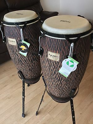 Tycoon Percussion - BRAND NEW - STCS-B CO/S Supremo Series ChiseledOrange Congas