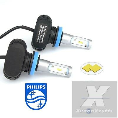 Kit Full Led Canbus Xenon 8000Lm Lumen Hb4 9006 6000K Lampade All In One Philips