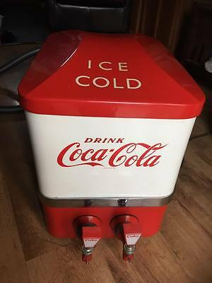 coca cola dispenser machine 1950's