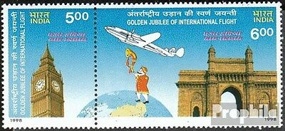 India 1629-1630 Couple (complete.issue.) unmounted mint / never hinged 1998 Air
