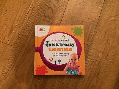 Quick And Easy Weaning Receipt Book By Annabelle karmel
