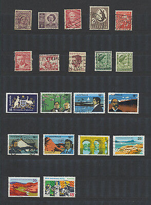 20 Used Stamps of Australia