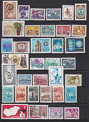 Hungary Large Selection of Pictorial Stamps 2 SCANS (Hu28121)